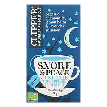 Clipper Snore and peace just the thing before lights out 20 bags 35g