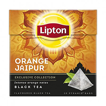 Lipton Orange jaipur black tea 20 bags 36g