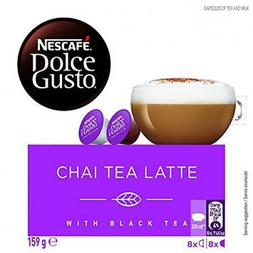 Nescafé Dolce gusto chai tea latte 16 capsules 159g