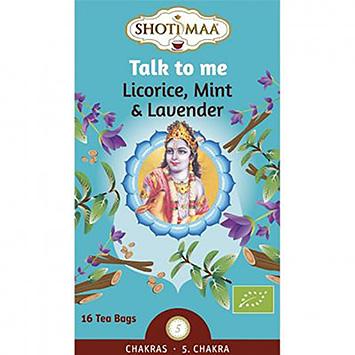 Shoti maa Talk to me licorice mint lavender 16 bags 32g