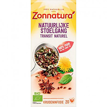 Zonnatura Natuurlijke stoelgang 20 zakjes 36g