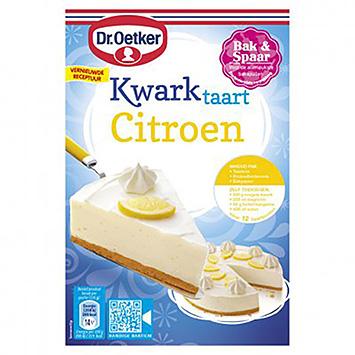 Dr. Oetker Gâteau au fromage au citron 420g